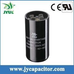 161-193uf 110v CD60 AC motor starting aluminum electrolytic capacitor with Bakelite case
