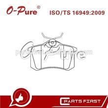 Disc Brake Pads FMSI D1017 Car Spare Parts Factory for Citroen Coupe Audi A4 Seat Altea