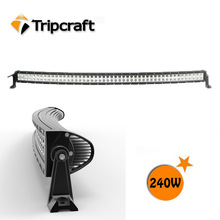 240W Light Bar off road heavy duty, indoor, factory,suv military,agriculture,wholesale led offroad curved led light bar