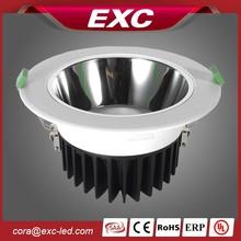 EXC 2015 new product ERP TUV SAA UL unique design office led downlight lighting