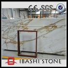 Imported calacatta gold marble slabs