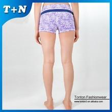 donne lycra elastica personalizzata stampa senza pantaloni di yoga