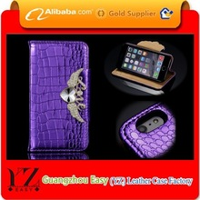 Alibaba express high quality wallet leather bling bling case for htc desire/htc one x