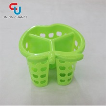 Best Selling Cute Apple Shape Plastic Storage Basket