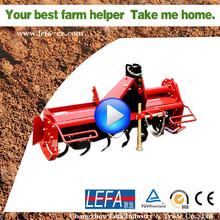 3 Point linkage PTO rotary tiller for garden tractor
