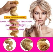 Blonde golden hair fiber extension african kanekalon hair braid