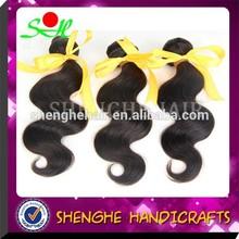 Offer sample best hair weft wholesale Peruvian 100% human hair