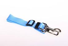 Blue Adjustable Dog Pet Car Safety Seat Belt Harness Restraint Lead Leash Travel Clip