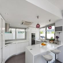 modern white crystal flexible countertop edging