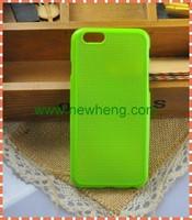 DIY TPU soft cross stitch back cover case for iphone6
