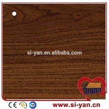 furniture plastic laminated PVC wood Grain Sheets