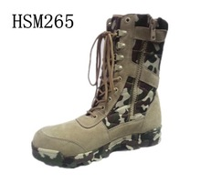 """SY,Side zipper design quickly response tactical gear 8"""" desert jungle boots camouflage"""