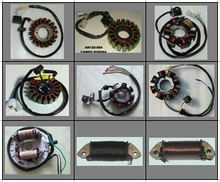 Motorcycle stator coil Magneto coil,parts for UM motorcycles and scooters,100cc,125cc,150cc,200cc
