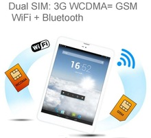 7.85inch 3G WCDMA GSM WIFI Bluetooth tablet pc