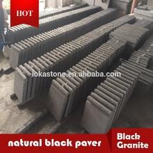 hot black granite stone,black Fuding, black granite, G684,
