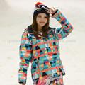 atacado barato jaquetas de esqui das mulheres roupa