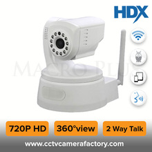 Pan Tilt Zoom 1 MP 720P HD Nightvision 2Way Audio & Motion Detection New IP Cum Robot Twist Camera With wifi