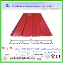 cnc coil tile roll former production steel roof and wall sheet machine for tile roof roll forming