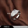 когда-либо элегантности моды кристалла кольцо, 925 серебра гей обручальное кольцо
