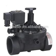 Long lifespan water solenoid valve flow control