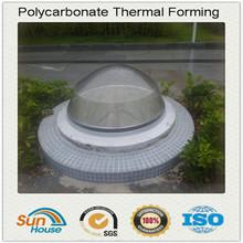 plastic domes skylight polycarbonate sphere