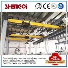 Design for low clearance workshop 8t overhead crane for general industry workshop