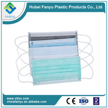 Disposable isolation non woven purple face mask