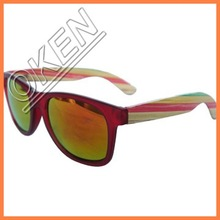 Newest OEM Skateboard Wooden Eyewear with Customized Logo