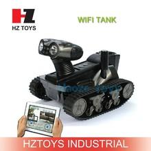 Spy Robot LT-728 Wireless Iphone/Ipad/Android Control RC i-spy tank toys.