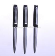 Metal branded ballpoint pen for advertising, metal ball pens, custom logo pen
