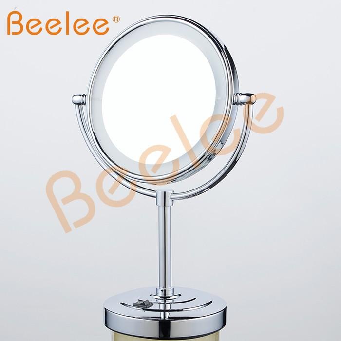 bad vergr erungsspiegel tisch spiegel mit led licht. Black Bedroom Furniture Sets. Home Design Ideas