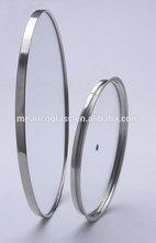 Manufacturer of 22cm SS tempered glass skillet lid