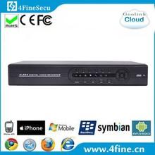 Economical H.264 Standalone 16CH CCTV Surveillance Security DVR
