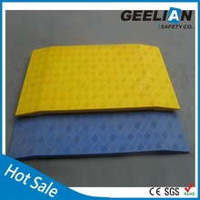 yellow blue trench safety cover with Anti-slip Surface