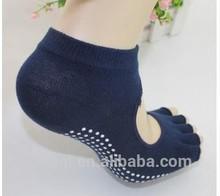 Manufacturer selling Cotton Yoga socks deodorant antibacterial backless sports socks brand Yoga socks