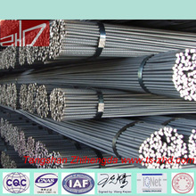 high quality hot rolled steel rebar / 12mm iron rod price