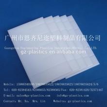 PP polypropylene plastic solid sheet/board
