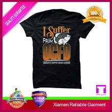 Black short sleeve printed long hem t-shirt
