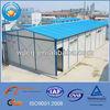 prefabricated steel frame house/prefab houses/sandwich panel prefabricated accommodation house