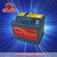 DIN Car Battery MF automotive battery DIN54459 starting car battery