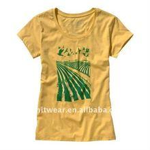 2015 new designs election slim fit tshirt press
