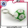 Artigifts company Professional football shape promotion keychain keyring