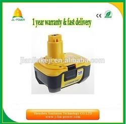 Dewalt 18V replacement power tool battery 3.0Ah Dewalt cordless drill Lithium ion battery for Dewalt DC9180