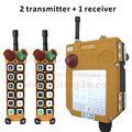 Dois transmissor guindaste Industrial controle remoto F24-12S controle remoto caminhão para o guindaste de torre