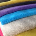 Polyester Stretch Polar Fleece Fabric with Anti pilling