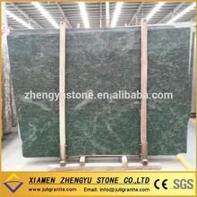 A Grade High Polished Nature Stone Tropical Green Granite Slab