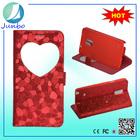Love Shape Wallet waterproof case for note 4