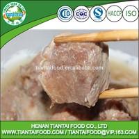 ISO canned stewed pork sliced