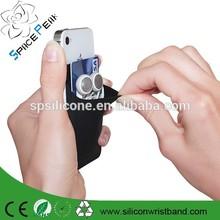 3M sticker smart wallet mobile card holder,silicone smart wallet for mobile phone