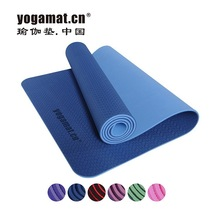 100% tpe yoga mat hardness